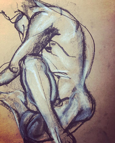 Life Drawing at Tom Bass Prize